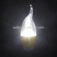 Free Shipping 3W E14 & E12 LED Candle light bulb Natural Warm color  AC85V~265V