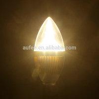 Wholesale 6 PCS/ LOT LED E14 lamp Candle Light bulb High Power Brightness 3W E12 Natural Warm White free shipping