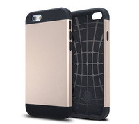 "New hot Slim Armor Case For iPhone 6 i6 Phone Cover Bags for iphone6 ,4.7 "" Gold Metal slate Pink FJX04239"