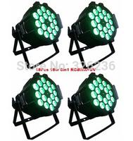 Cheap Price 18pcs *10w 4IN1 Led Par64 Light RGBW Color Mixing Led Par Can DMX512 8CHs Led Stage Effect Light No Water Proof Type