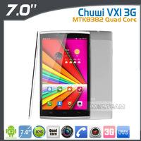 7 inch Chuwi VX1 3G Quad Core mini Tablet PC MTK8382 1.3GHz 16GB Rom 8.0MP Camera 16GB Rom HDMI Phone Call WCDMA OTG
