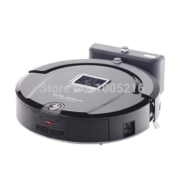 2015 Newest Floor Cleaning Robot Auto Rechargeable, Remote Control, Virtual Wall, Touch Screen,Mopping Vacuum Cleaner(China (Mainland))