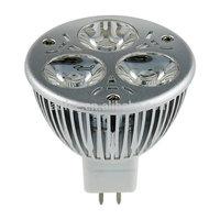 Wholesale 3W High Power Led Lamp spotlight  spot light Natural Warm White MR16  Free Shipping