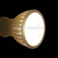 (6 Pcs/Lot) Led spotlights Lamp GU10 Spotlight 4W AC85V-265V  spot Light  Warm Natural White free shipping