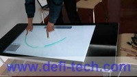 46 inch USB  Interactive Touch Foil  for Corporate office / 4 points touch film SideTail