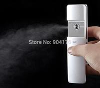 Nano Ionic facial steamer, USB rechargeable handy mist spray  for skin moisturizing
