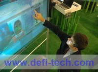 """6 touch points 70""""  Interactive touch foil, Thin and light"""