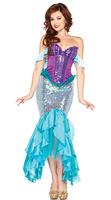 Free shipping !! sexy mermaid costumes,animal costume halloween,women sexy fancy dess