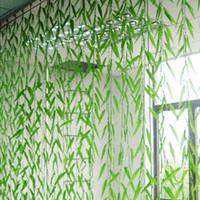 200x 180cm Wicker Twig Artificial Willow Vine Green Leaves Ivy Plastic Silk Simulation Decoration Fake Plants Flower Vine