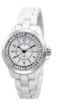 Fashion Women Rhinestone Watch Luxury CC Brand Quartz Watches 100% Genuine Ceramic Watches Women's Dress Watches