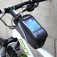 "ROSWHEEL Bike Bicycle 4.2"" 4.8"" 5.5"" bag Cycling Frame Tube Panniers Waterproof Touchscreen Phone Case Bag red/blue/green BB02"