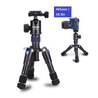 "Selens 46.5cm/18.2"" Al-Mg alloy Tripod & Monopod SE-mini For Photo & Video180 degree  with ballhead and protect bag Max.Load 6kg"