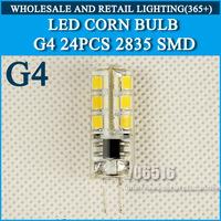 5PCS/lot G4 LED 220-240V 5W Led Lamp LED Bulb 2835SMD 24LED lamp 360 Beam Angle LED spot light warranty Free Shipping