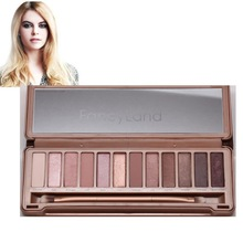 Free shipping New 3 Type Eye shadow palette 12 Colors NK1,2,3 Makeup eyeshadow palettes with brushes Dropshipping B26 20096(China (Mainland))