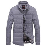 2014 New Arrival Handsome simple style Men's Winter Jacket Thick Warm&Popular high quality Winter coat  Wholesale MWM444