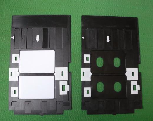 New Design Free Shipping Good Quality PVC Card Tray For Epson Printer R290 R270 T60 T50 P50 PVC ID Card Tray(China (Mainland))