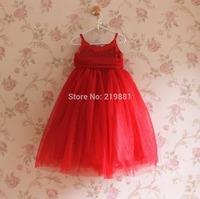 HOT ! Girls summer sweet sequins Christmas tutu dress , princess dress girl , 5pcs/lot    LWH17
