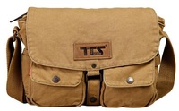 Brand 2014 New Best Selling Fashion Unique Canvas Casual Travel School Men Messenger Shoulder Bags Cross Body Bag Sling Bike Bag