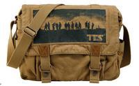 Free Shipping!2014 New Hot Sale Men's Messenger Travel Shoulder Bags Cotton Canvas Vintage Fashion Design Famous Brand Sport Bag