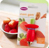 Via Fedex IP, Stem Gem Strawberry Huller,Strawberry Stem Remover,Tomato Huller,vegetable cutter,vegetable slicer 200PCS
