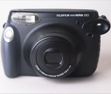 Fujifilm Instax Wide camera 210 Black Instant Photo Camera Wide Film camera Free shipping