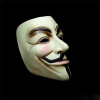 2014 New V For Vendetta Anonymous Movie Guy Fawkes Vendetta Mask Halloween Cosplay