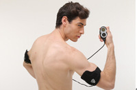 2014 Update Rechargeable Male  Arms Flex  Arms Muscle Training System Belt Tone and Strengthen your Biceps and Triceps