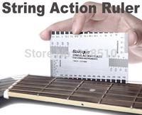 String Action Ruler Gauge Tool in/mm for Guitar Bass Mandolin Banjo
