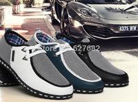 Man Fashion Summer Men Sneakers Breathable Canvas Shoes Fashion Casual Mens Shoes Ultra-light Sport Shoes Men's Shoes Size 39-44