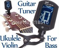 LCD Digital Bass Violin Ukulele Guitar Tuner
