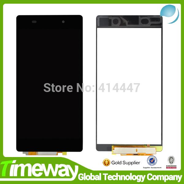 DHL 10 шт. Новый Черный Для Sony Xperia Z2 D6502 D6503 D6543 ЖК-Экран с Дигитайзер Ассамблеи Сенсорный for sony 10pcs lot sony xperia z2 d6502 d6503 d6543 dhl