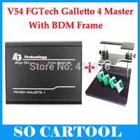 2014 Quality A++ BDM FRAME + V54 FGTech Galletto 4 Master BDM-OBD Function DHL Free Shipping