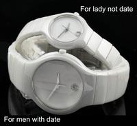 mens watches top brand luxury full Ceramic watch casual quartz watch dress men & women wristwatches lovers