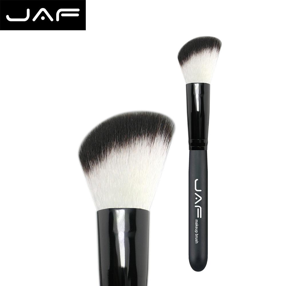 Retail Angler blush brush synthetic hair brand name makeup brush angle brush Free Shipping 12SWA