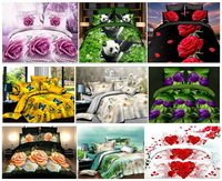 Home textile,3D printing bedding Set  flat sheet bed clothing,duvet cover Bed Sheet Pillowcase, bedclothes ,King  size