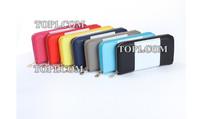 PROMOTION 2014 Fashion famous Designers Brand Michaeled Wallet women purse PU LEATHER Single zipper  female purse cross Clutch