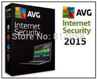 Wholesale the most hot selling avg internet security 2015 verison 3u 3y Antivirus software