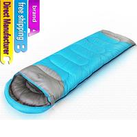 Adult sleeping bag/Direct Manufacturer/The envelope bag/Winter travel bag/Wild camping sleeping bag/free shipping