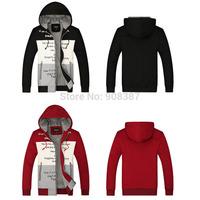 2014 New Autumn Men's jackets Sports Hoodies & Sweatshirts Baseball uniform Casual Cotton cardigan Men sweatshirt Outerwear Coat