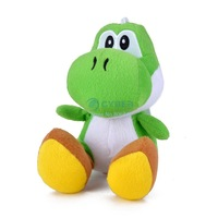 """6 """" inch Green Plush Toys Figure Doll baby Toy Gift For Children #15 SV007821"""