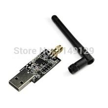 Geeetech Crazyradio 2.4Ghz nRF24LU1+ USB radio dongle with antenna for Crazyflie Nano Quadcopter Free Shipping(China (Mainland))