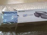2 pcs\lot Genuine Hisense 3D Active Bluetooth Shutter Glasses FPS3D07A Interchage FPS3D05 English Instruction For Hisense TV