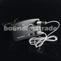 OPHIR30000RPM Black NailDrill Kit PedicureManicure Set with Bits+ Degree Sanding Bands Nail Tools110VUS Plug#KD146BU+163+165-167