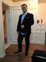 2014 new spring  Autumn Plus Size xl-6XL fat Men Blazers 2014 New Arrival Designer Brand  Fashion Slim Fit Blazer Suits