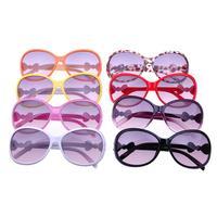 Oval Shaped Frame Child Sunglasses Sun Glasses for kids , purple lens