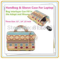 Pop Bohemia Laptop Sleeve Case 8,10,11,12,13,14,15 inch Bag For ipad Tablet,Notebook,Handbag For MacBook, Wholesale,Free Ship
