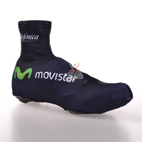 movistar 2014 Cycling Shoe Covers cycling jersey Ropa Ciclismo bicycle waterpoorf galocha warm cycling shoes fitness clothes MTB