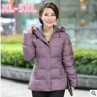 New 2014 Down Jacket Winter Coat Thicken Slim Female Hoody Collar Warm Coat Women Parka Winter Coat Plus Size XL-5XL C2008