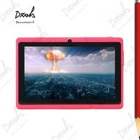 Allwinner 7 inch A23 Dual Core Bluetooth Wifi Tablet Q88 Pro 512M/4GB Dual Camera 2500mAh Battery 10Pcs/Lot DHL Free Shipping