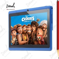 7 inch Actions ATM7021 Dual Core Android 512M RAM 8GB ROM Dual Camera HDMI Multicolor Tablet PC 5Pcs/Lot DHL Free Shipping